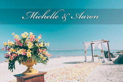 Bali White Sand Beach Wedding