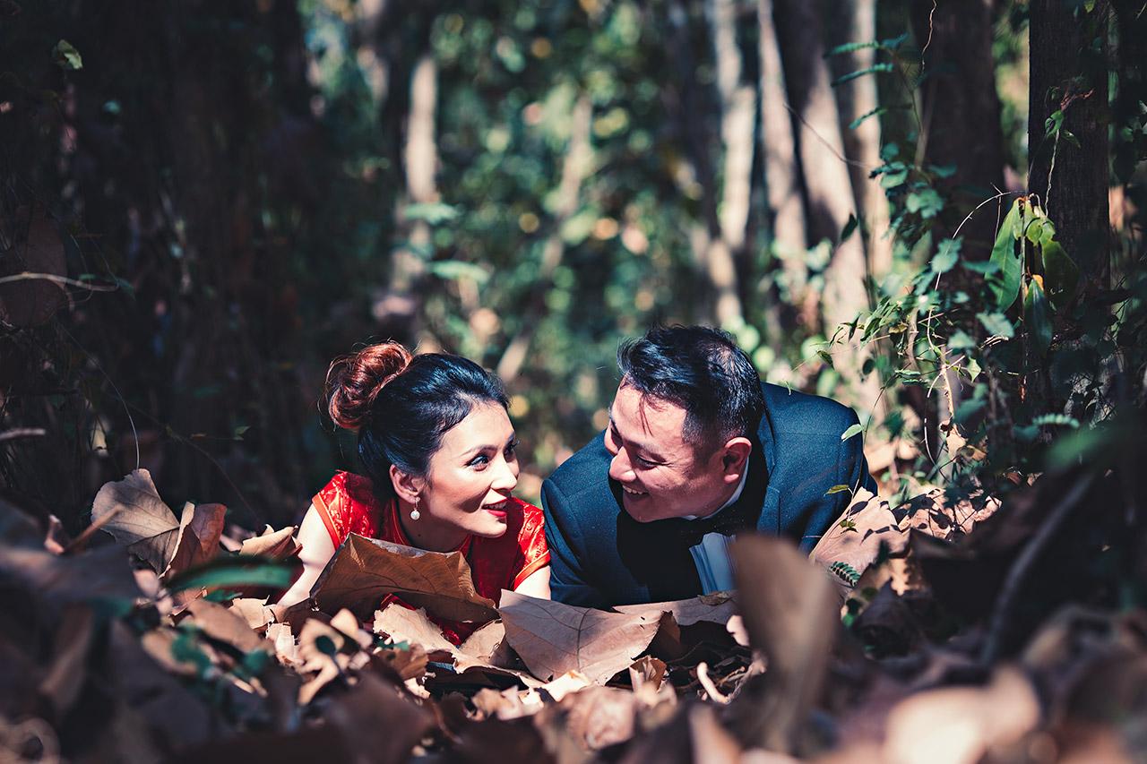 Honeymoon Photos Chinese couple