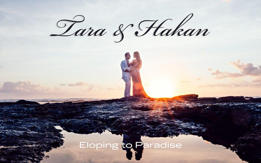 Bali Elopement & Honeymoon photography in one…