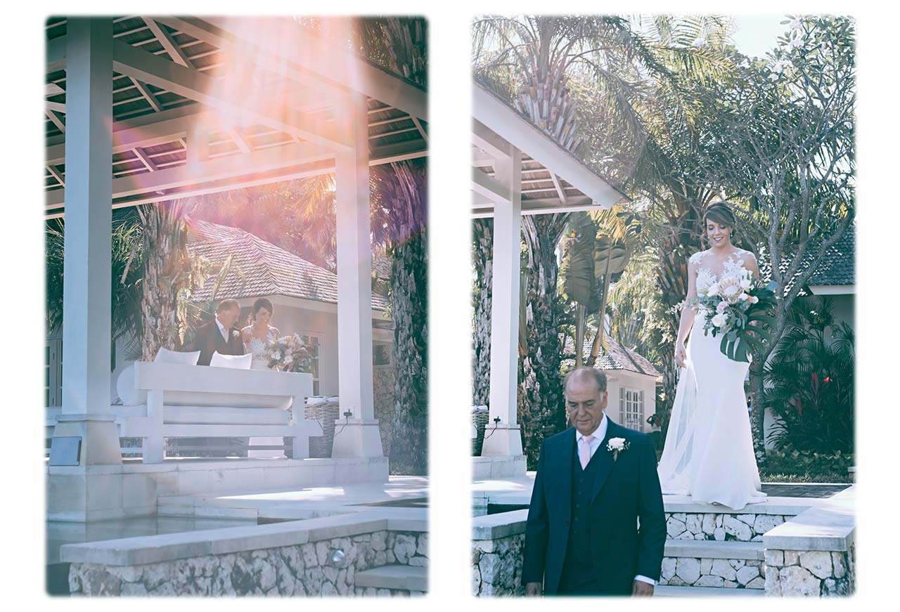 Best Bali wedding photographer clifftop villa wedding