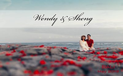 Bali pre-wedding photography with vintage equipment