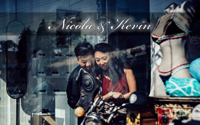 Nicola & Kevin – the most challenging Bali pre-wedding photos ever