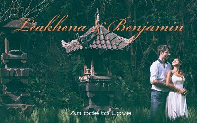 Bali Pre Wedding photos for Leakhena & Benjamin